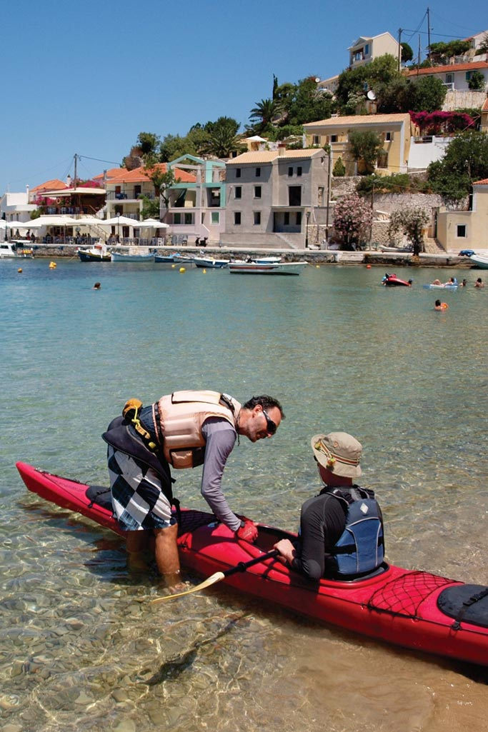 Sea Kayaking Kefalonia, Greece