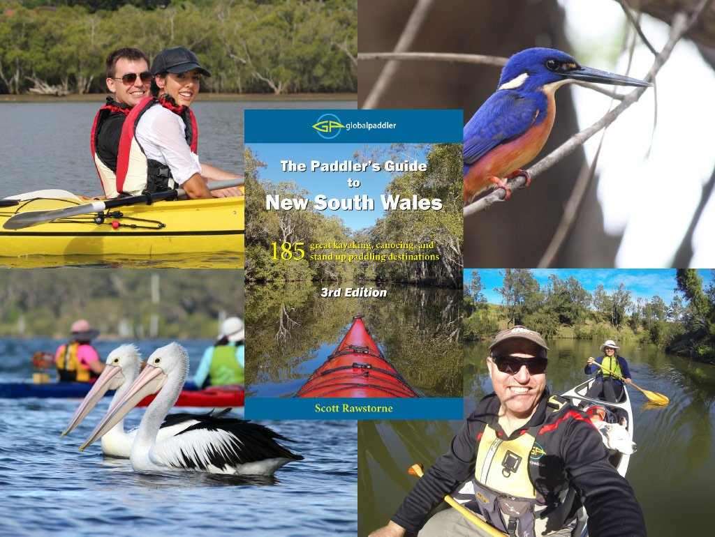 The Paddler's Guide to New South Wales 3rd Edition Montage